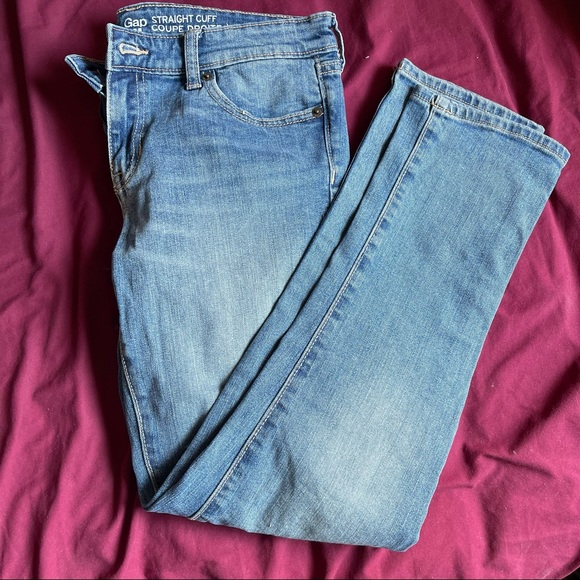 Gap Jeans Straight Cuff